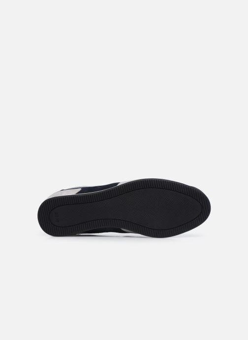 Sneaker BOSS GLAZE LOWP grau ansicht von oben