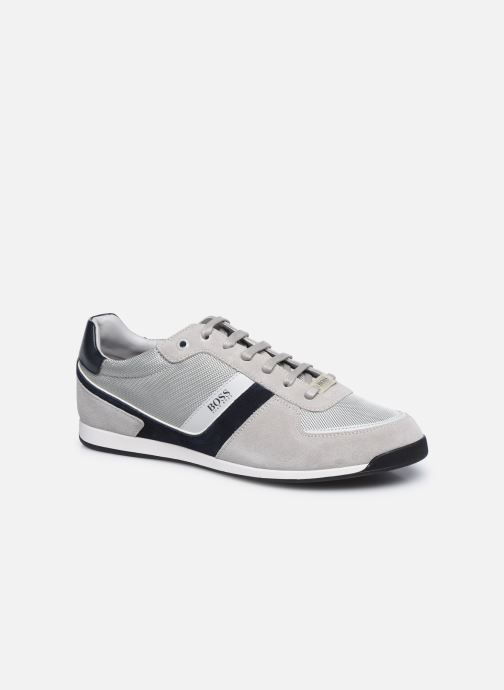 Sneaker BOSS GLAZE LOWP grau detaillierte ansicht/modell