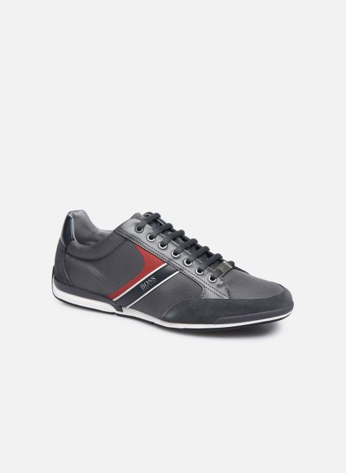 Baskets BOSS SATURN LOWP Gris vue détail/paire