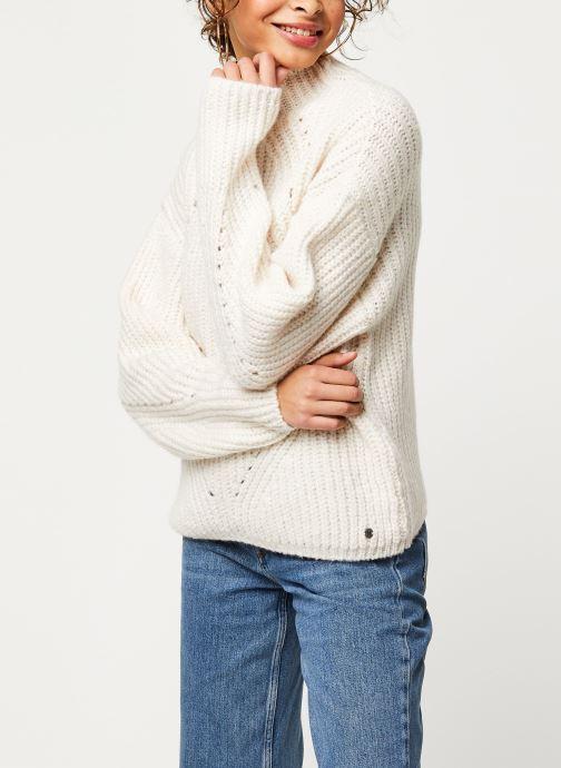 Vêtements Noisy May Nmcristin Knit Blanc vue droite