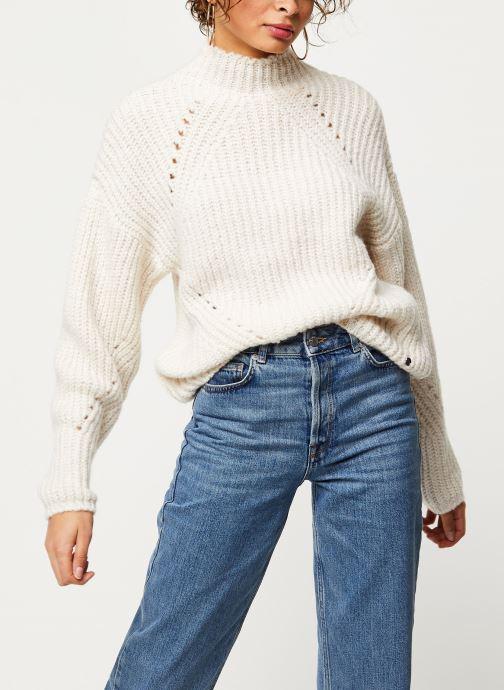 Vêtements Noisy May Nmcristin Knit Blanc vue détail/paire