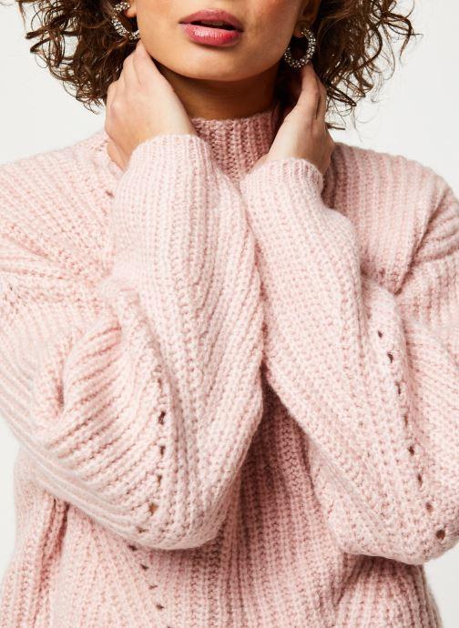 Vêtements Noisy May Nmcristin Knit Rose vue face