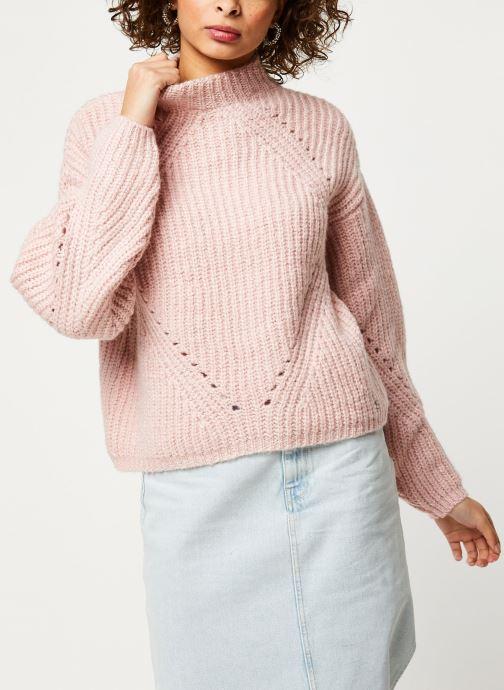Vêtements Noisy May Nmcristin Knit Rose vue droite