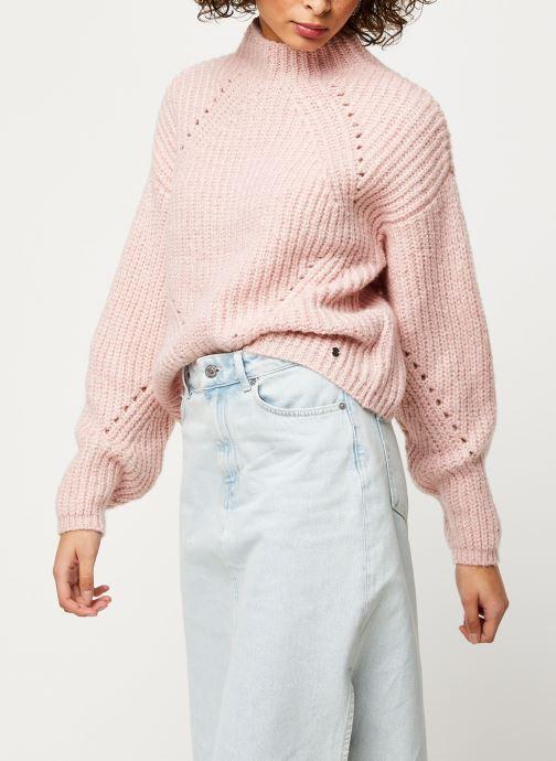 Vêtements Noisy May Nmcristin Knit Rose vue détail/paire