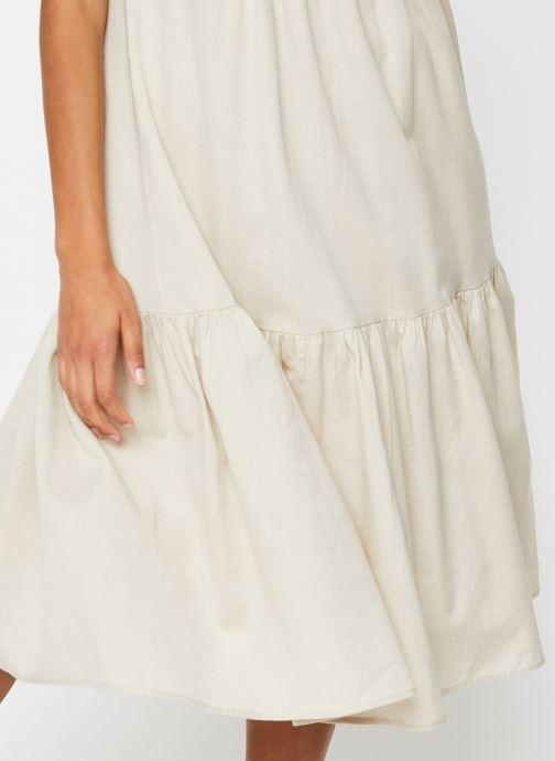 Vêtements Noisy May Nmhiram Dress Beige vue face