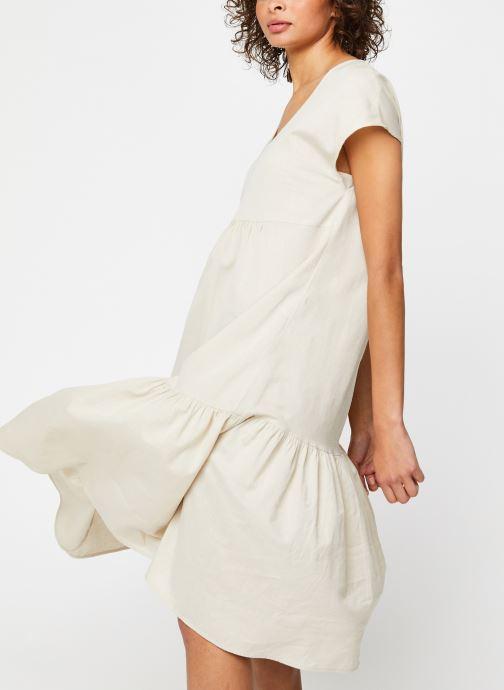 Vêtements Noisy May Nmhiram Dress Beige vue droite