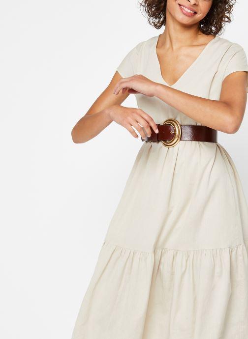 Vêtements Noisy May Nmhiram Dress Beige vue détail/paire