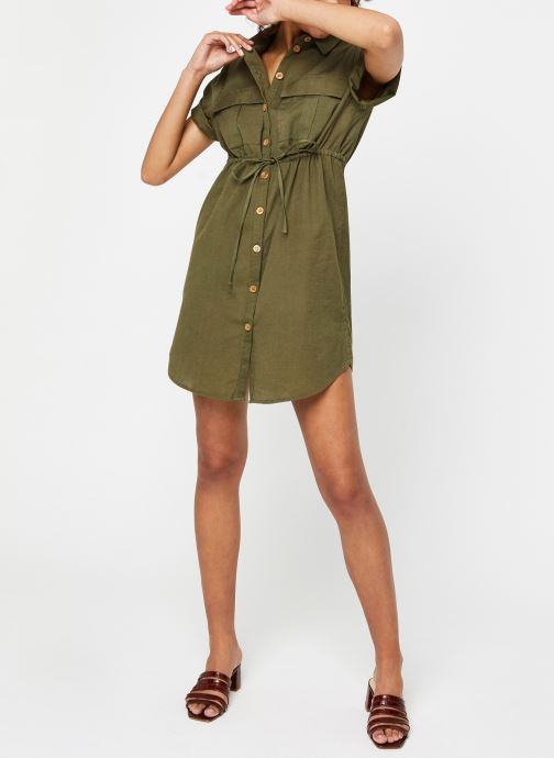 Vêtements Noisy May Nmhiram Dress Vert vue bas / vue portée sac