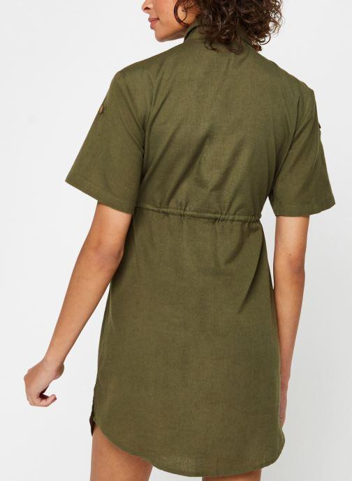 Vêtements Noisy May Nmhiram Dress Vert vue portées chaussures