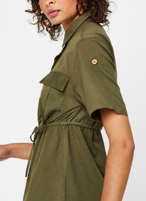 Vêtements Noisy May Nmhiram Dress Vert vue face