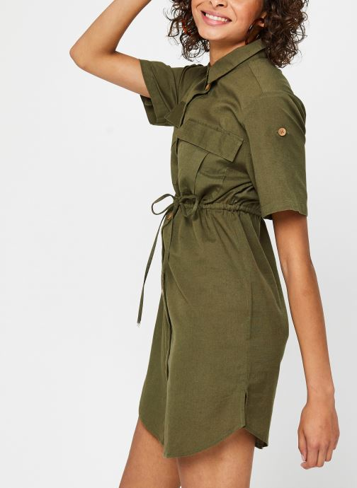 Vêtements Noisy May Nmhiram Dress Vert vue droite