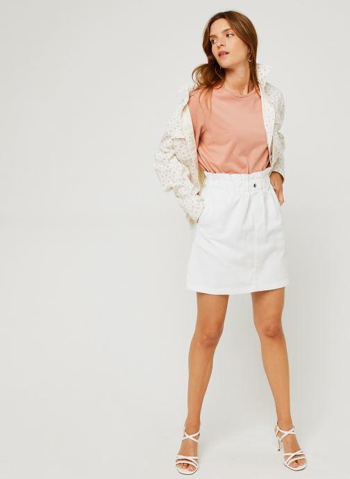 Vêtements Noisy May Nmjudo Hw Paperback Blanc vue bas / vue portée sac
