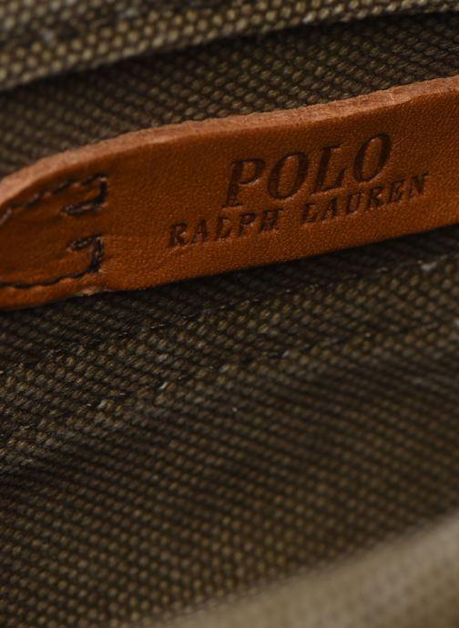 Bolsos de mano Polo Ralph Lauren MINI MESSENGER Verde vistra trasera