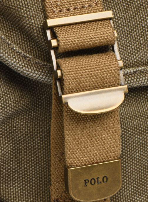 Bolsos de mano Polo Ralph Lauren MINI MESSENGER Verde vista lateral izquierda