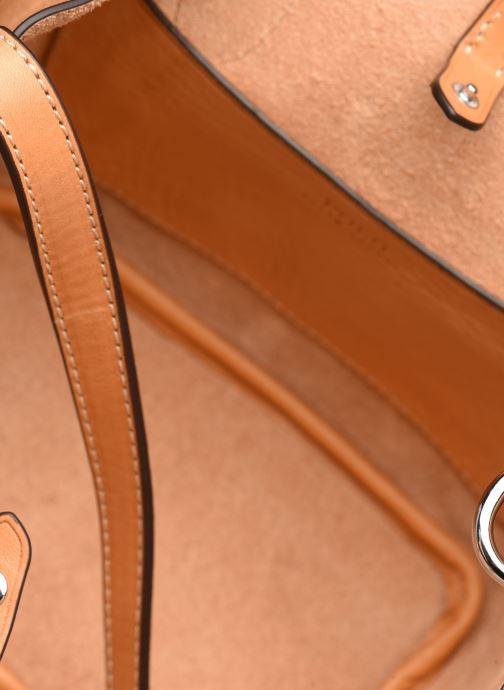 Handtaschen Polo Ralph Lauren BELLPORT MINI OPEN TOTE braun ansicht von hinten