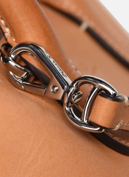 Handtaschen Polo Ralph Lauren BELLPORT MINI OPEN TOTE braun ansicht von links