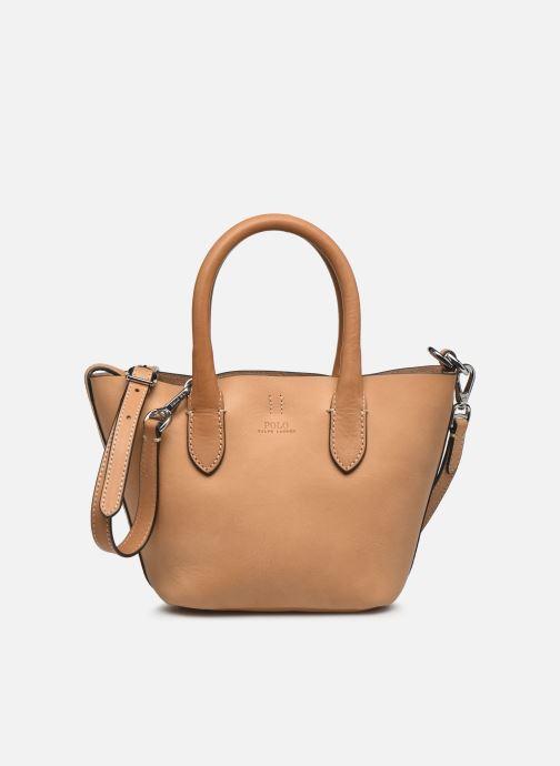 Handtaschen Polo Ralph Lauren BELLPORT MINI OPEN TOTE braun detaillierte ansicht/modell