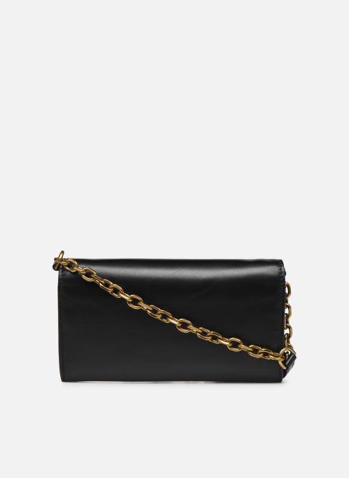 Handtassen Polo Ralph Lauren CHAIN WALLET SMALL Zwart voorkant