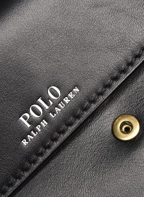 Handtaschen Polo Ralph Lauren CHAIN WALLET SMALL schwarz ansicht von links
