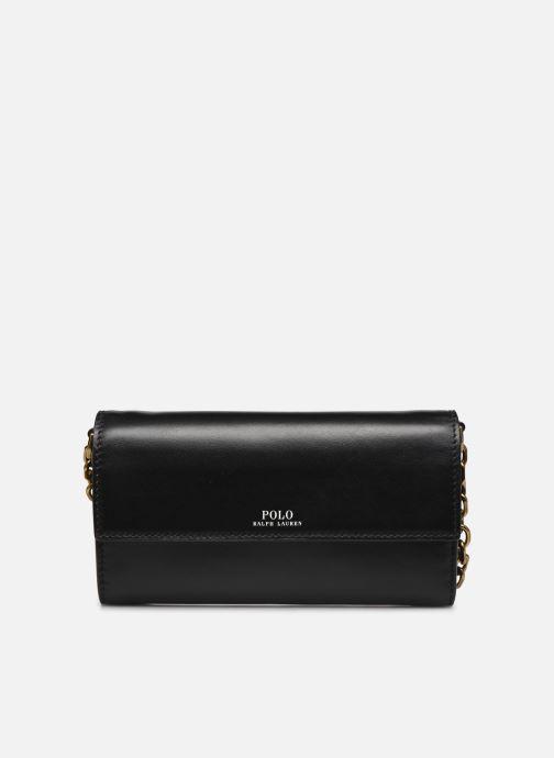 Handtassen Polo Ralph Lauren CHAIN WALLET SMALL Zwart detail