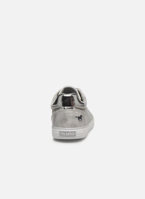 Baskets Mustang shoes Kolia Argent vue droite
