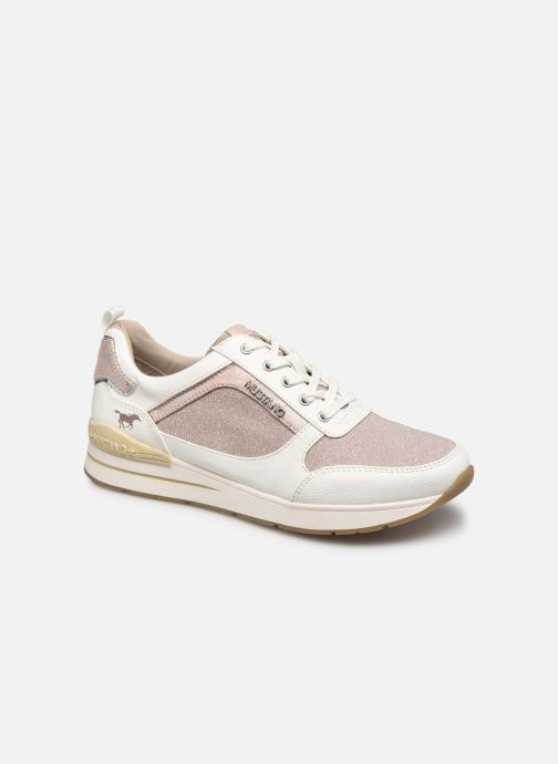 Sneaker Mustang shoes Hedell rosa detaillierte ansicht/modell