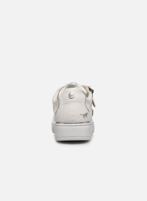 Baskets Mustang shoes Glyfada Blanc vue droite