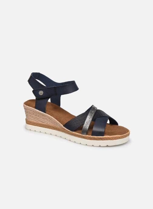 Sandales et nu-pieds Mustang shoes Mhadi Bleu vue détail/paire