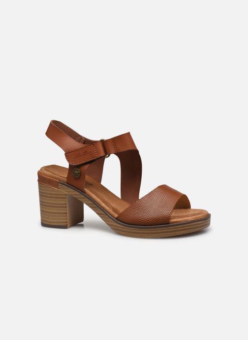 Sandales et nu-pieds Mustang shoes Marcia Marron vue derrière