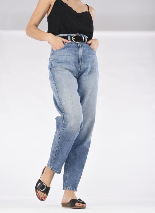Clogs & Pantoletten Mustang shoes Brinda schwarz ansicht von unten / tasche getragen