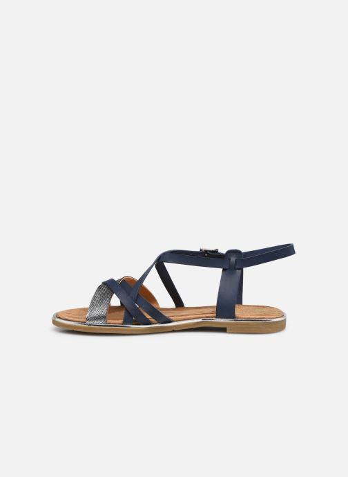 Sandales et nu-pieds Mustang shoes Luane Bleu vue face