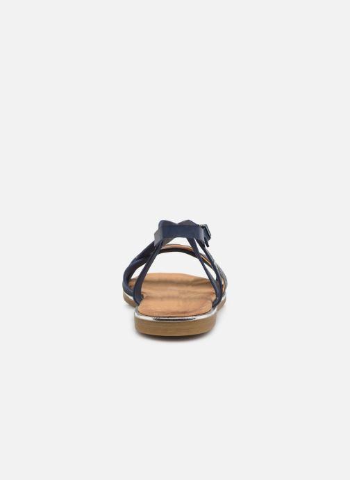Sandales et nu-pieds Mustang shoes Luane Bleu vue droite