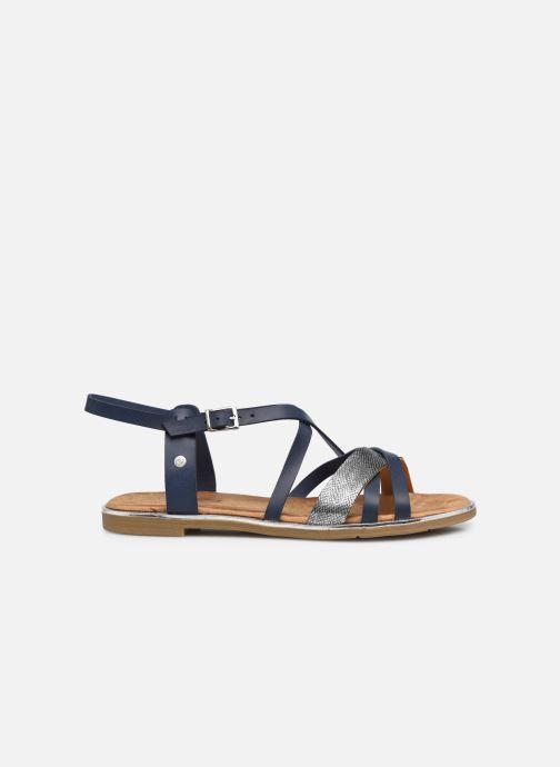Sandales et nu-pieds Mustang shoes Luane Bleu vue derrière