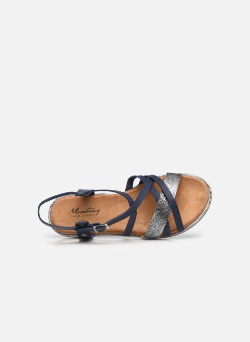 Sandales et nu-pieds Mustang shoes Luane Bleu vue gauche