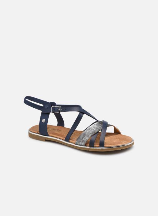 Sandales et nu-pieds Mustang shoes Luane Bleu vue détail/paire