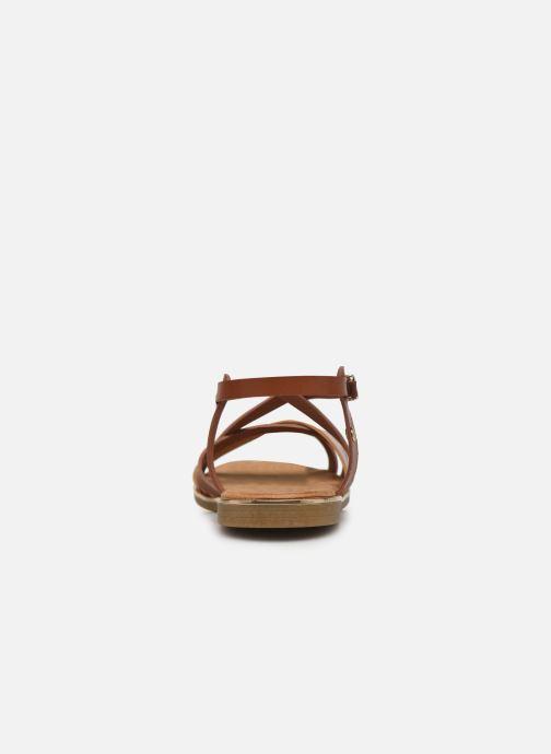 Sandales et nu-pieds Mustang shoes Luane Marron vue droite