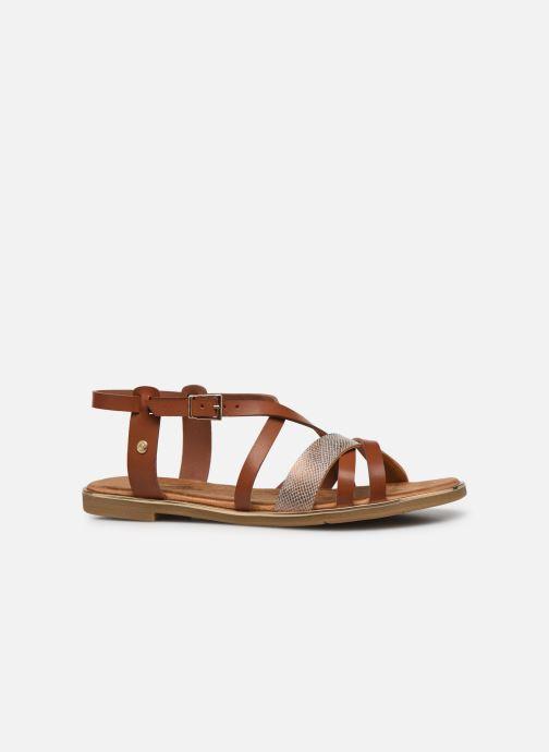 Sandales et nu-pieds Mustang shoes Luane Marron vue derrière