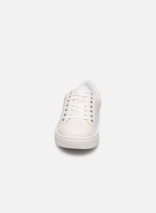 Baskets I Love Shoes THERIUM Blanc vue portées chaussures
