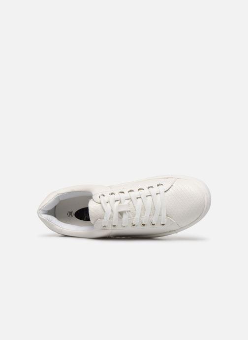 Baskets I Love Shoes THERIUM Blanc vue gauche