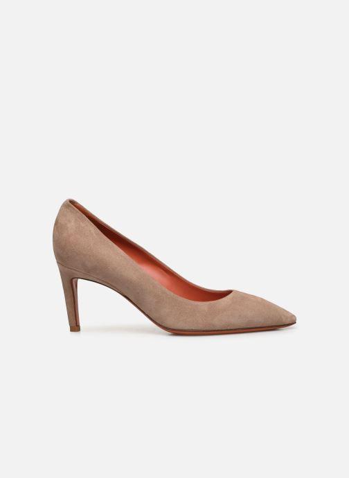 Zapatos de tacón Santoni MINNA 70 Beige vistra trasera
