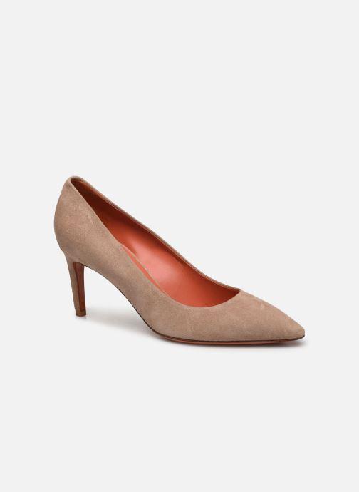 Zapatos de tacón Santoni MINNA 70 Beige vista de detalle / par