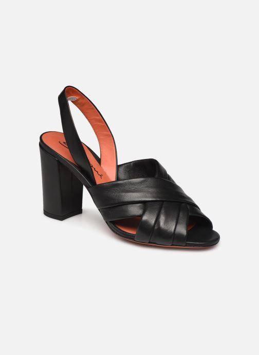 Sandali e scarpe aperte Santoni MANET 58516 Nero vedi dettaglio/paio