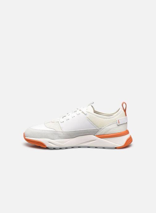 Sneaker Santoni INNOVA weiß ansicht von vorne