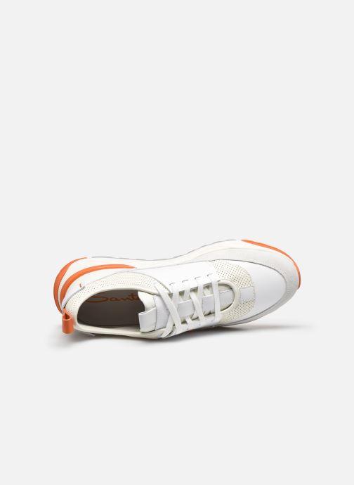 Sneaker Santoni INNOVA weiß ansicht von links