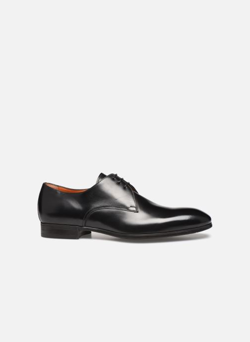 Zapatos con cordones Santoni Simon 15018 Negro vistra trasera