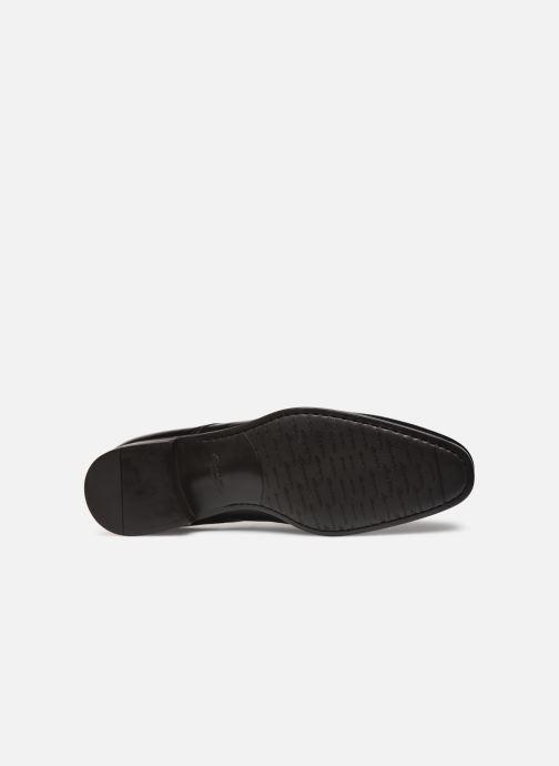 Zapatos con cordones Santoni Simon 15018 Negro vista de arriba