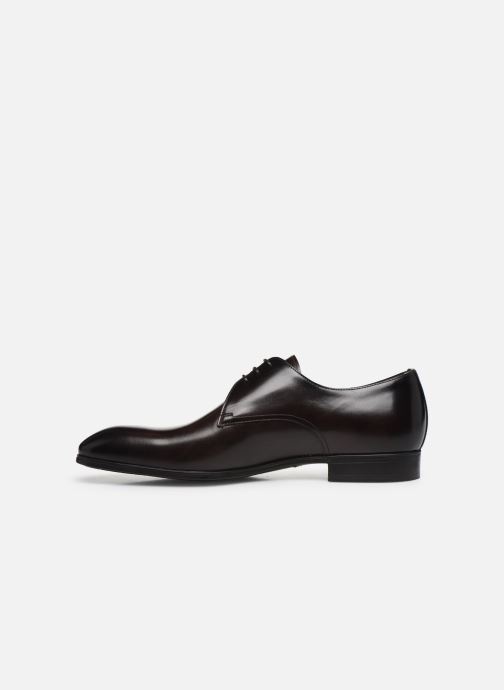 Chaussures à lacets Santoni Simon 15018 Marron vue face