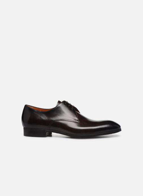 Zapatos con cordones Santoni Simon 15018 Marrón vistra trasera