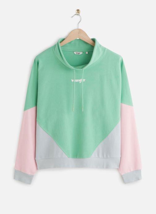 Vêtements Wrangler 90S Sweat Neptune Green Vert vue détail/paire