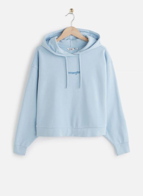 Cropped Hoodie Cashmere Blue